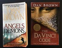 Dan Brown Angels & Demons - The DaVinci Code (Two books)