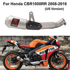 Exhaust System Muffler Tail Tube Mid Link Pipe for Honda CBR1000RR 2008-2016