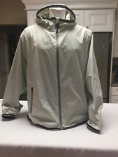 tommy hilfiger Hooded  Windbreaker Rain Gear jacket Size Large