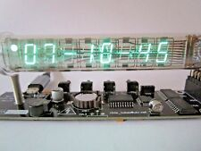 Ice tube clock IV-18 VFD nixie tube nixie clock desk clock steampunk vintage