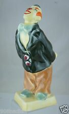 VINTAGE DITMAR URBACH CZECH  ART POTTERY CLOWN STATUE FIGURINE