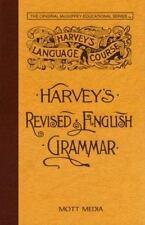 Harvey's Revised English Grammar (Harvey's Language Course)-ExLibrary