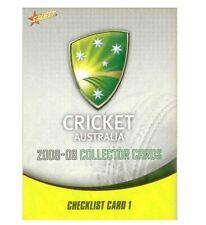 AUSTRALIA CRICKET ACB 2008-09 SELECT COMPLETE COMMON SET 120 CARDS