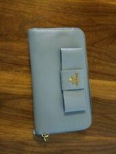 Prada Light Blue Bow Wallet