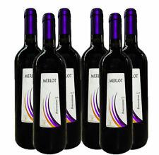 Vino Rosso Merlot Beneventano  Igp x 6 Bottiglie 0.75ml Cantine Carannante