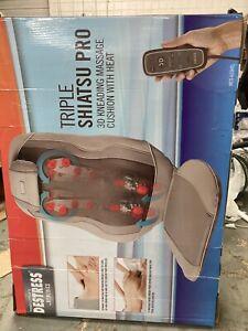 Back Massage triple shiatsu pro 3D massage with heat by homedics