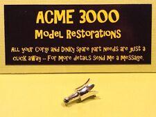 Popeye Paddle Wagon Corgi 802 Reproduction Repro Chrome Plastic Chimney Crown