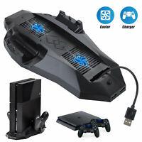 Support vertical pour Sony PS4 avec station de refroidissement