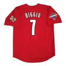 Craig Biggio Houston Astros Alt Brick Red 2005 World Series Jersey Men's XL
