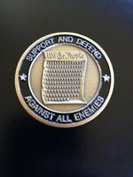 OLDER Challenge Coin Army 227th Birthday Coin 'Support and Defend' June 2002