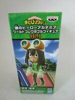 My Hero Academia World Collectable Figure WCF vol.1 Asui Tsuyu Banpresto F/S
