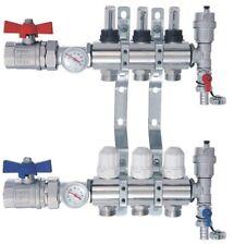 Distributeur Collecteur pour Plancher Chauffant NORDIC TEC 3-10 circuits COMPLET