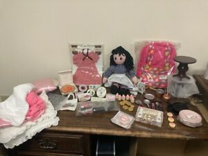 HUGE LOT!FACTORY 2ND 18 Inch Dolls,Clothing,Accessories, Fits American Girl Doll