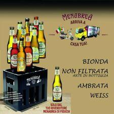 MENABREA Cassa 12 Bottiglie Assortite Degustazione Novità Birra Italiana