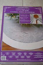 Christmas Tree Skirt Luxury Silver/Faux Fur Massive 1.6m (adjustable) FREE P&P