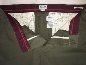 Timberland Mens Straight Fit Pants/Trousers Style A1L8W GENUINE