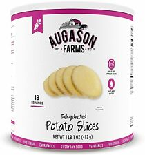 Augason Farms Dehydrated Potato Slices Long Term Emergency Food Storage #10 Can