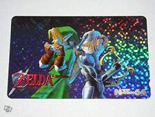 Phone Card Zelda Ocarina of Time N64 - Nintendo 64 Japon (1998)
