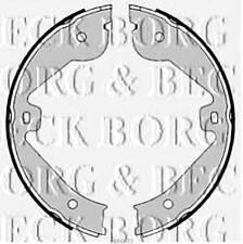 BORG & BECK BBS6373 BRAKE SHOE SET REAR AXLE RC569768P OE QUALITY