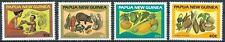 Papua Neuguinea - Lebensmittel und Ernährung Satz postfrisch 1982 Mi. 435-438