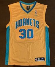 Rare Vintage Reebok New Orleans Hornets David West Rookie Basketball Jersey