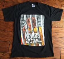 Tyler Perry Madea Goes To Jail Rap Tee T-shirt Adult Medium Double Sided Print