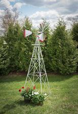 10 Ft Hand Made in the USA! Aluminum Garden Windmill