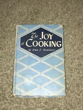 Vintage 1943 edition The Joy of Cooking