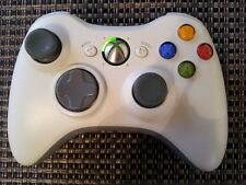 Official Genuine Microsoft Xbox 360 Wireless Controller White OEM~ Tested, Work