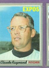 1970 TOPPS # 268 CLAUDE RAYMOND EXPOS EX