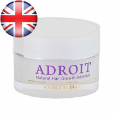 Natural Hair Growth Inhibitor Cream Treatment For Face Legs Unisex Omiera Adroit