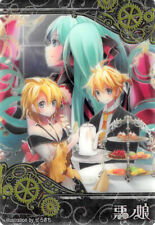 Vocaloid Hatsune Miku Trading Card Wafer Bad-I-06 Allen Riliane Len Rin Kagamine