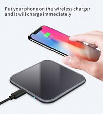 Techno S 15W QI Fast Charging Wireless Fast Charger for Apple,Samsung and more