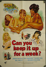 Can You Keep It Up For A Week - original 1sh poster