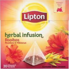 Lipton - ROIBOS and HIBISCUS  - 20 x 4 = 80 tea bags (pyramids)