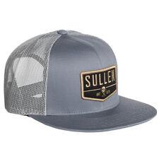 Sullen Art Collective Clothing Trucker Cap Kappe Mütze - Blockhead Grau