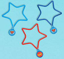 DC SUPER HERO GIRLS CHARM BRACELETS (6) ~ Birthday Party Supplies Favors Charms