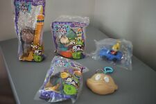 Rugrats the Movie -1998 Kids Meal Toys- lot of 5