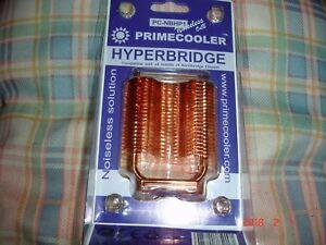 Primecooler hyperbridge  noiseless northbridge PC chipset cooler ,dual heatpipe