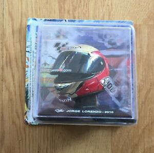 HELMET MOTOGP X- LITE  (2010) 1/5 , JORGE LORENZO - INDIANAPOLIS MOTOR SPEEDWAY,