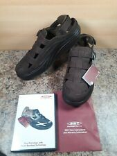 MBT mens gil gil brown sandals UK 10.5 U.S 11.5 EU 45 physiological footwear