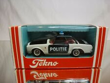 TEKNO DENMARK 932 MERCEDES 230 SL - POLITIE POLICE - VERY RARE - GOOD IN BOX