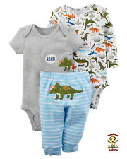 Carter's 3-piece Turn Me Around Set Dinosaur 9 mos Authentic & Brand New