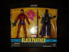 "KLAW & SHURI Hasbro Marvel Legends 6"" Action Figure sealed MIB Black Panther NEW"