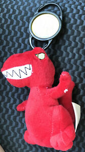 2005 Neopets McDonald's Red Grarrl With Petpet & Tush Tags