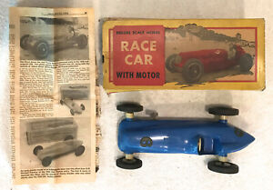 Vintage 1939 Deluxe 1/16 Scale Model Race Car, REX MAYS Indianapolis 500, w/ Box