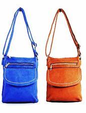 Girls Women Messenger Faux Leather Cross Body Bag Shoulder Bag Handbag Purse