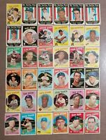 1959 Topps Baseball Cards - Vintage lot - Free Shipping