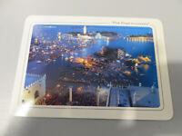 Rara Tarjeta Postal Pink Floyd en Concierto Venecia 15/07/1989 Nuevo
