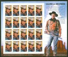 US #3876 John Wayne, Sheet of 20 SELF ADHESIVE
